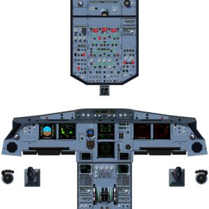 A320 NEO LCD LEAP CFM - A0
