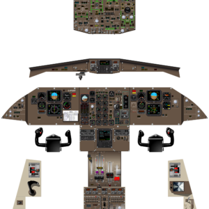 ATR42-320 COMPLETE COCKPIT - OCT 2019 - A0