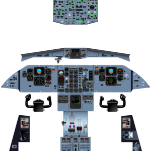 ATR42-500 - COMPLETE COCKPIT - OCT 2019 - A0