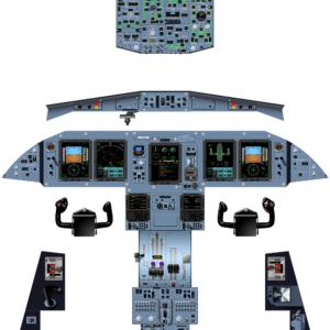 ATR72-600 - COCKPIT POSTER COMPLETE - OCT 2019 - A0