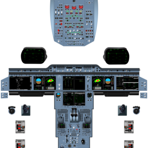 Airbus A350 Cockpit Poster T