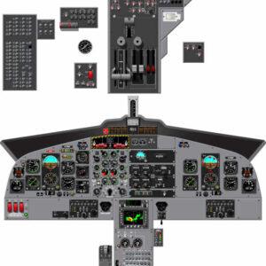 DHC-6 100-200-300 Complete Cockpit