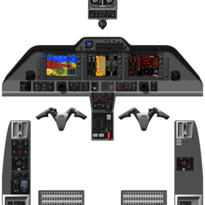 G1000 - COMPLETE COCKPIT PANELS - A0 - NOV 2019 - WITHOUT TAWS - STANDARD T