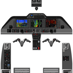 G1000 - COMPLETE COCKPIT PANELS - A0 - NOV 2019 - WITH TAWS - STANDARD T